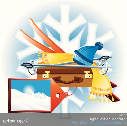 Que faut-il mettre dans sa valise avant de partir en vacances à la neige ?