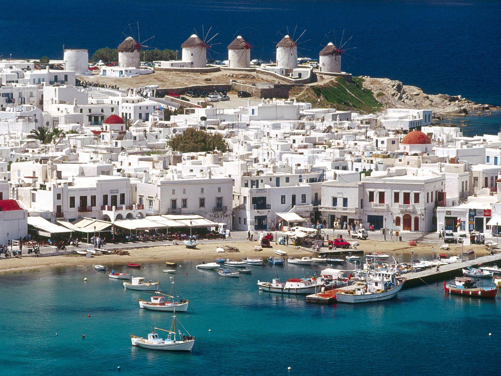 Vacances en Grèce : visiter les îles grecques