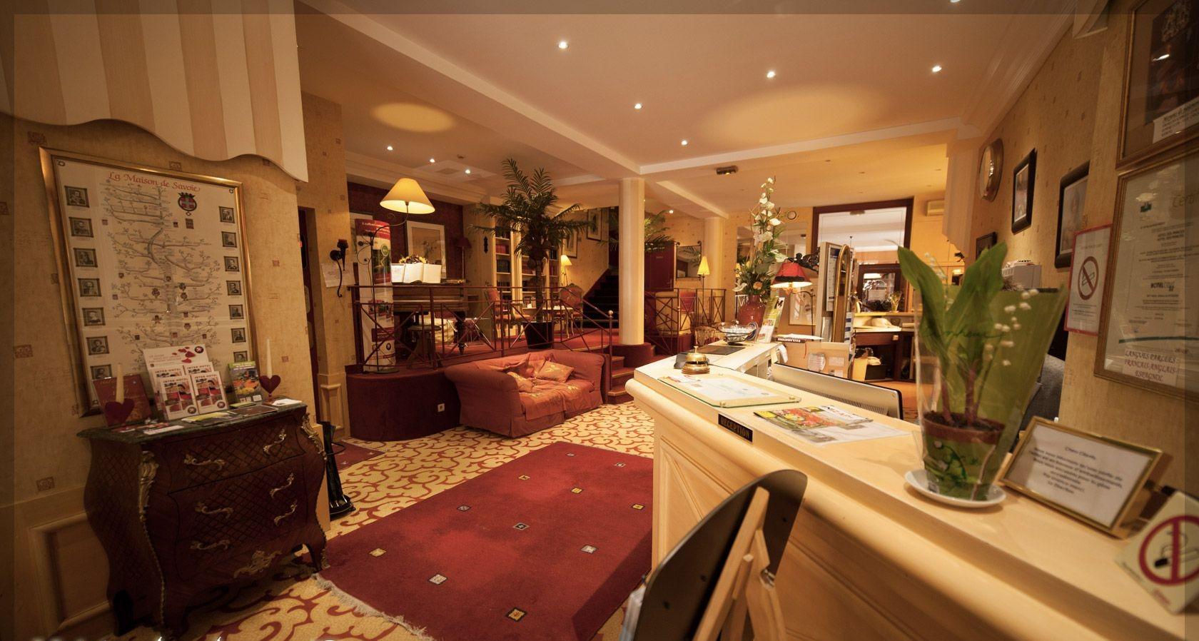 Hôtel des Princes : l'hôtel idéalement situé à Chambery