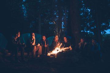 Partir à plusieurs en camping