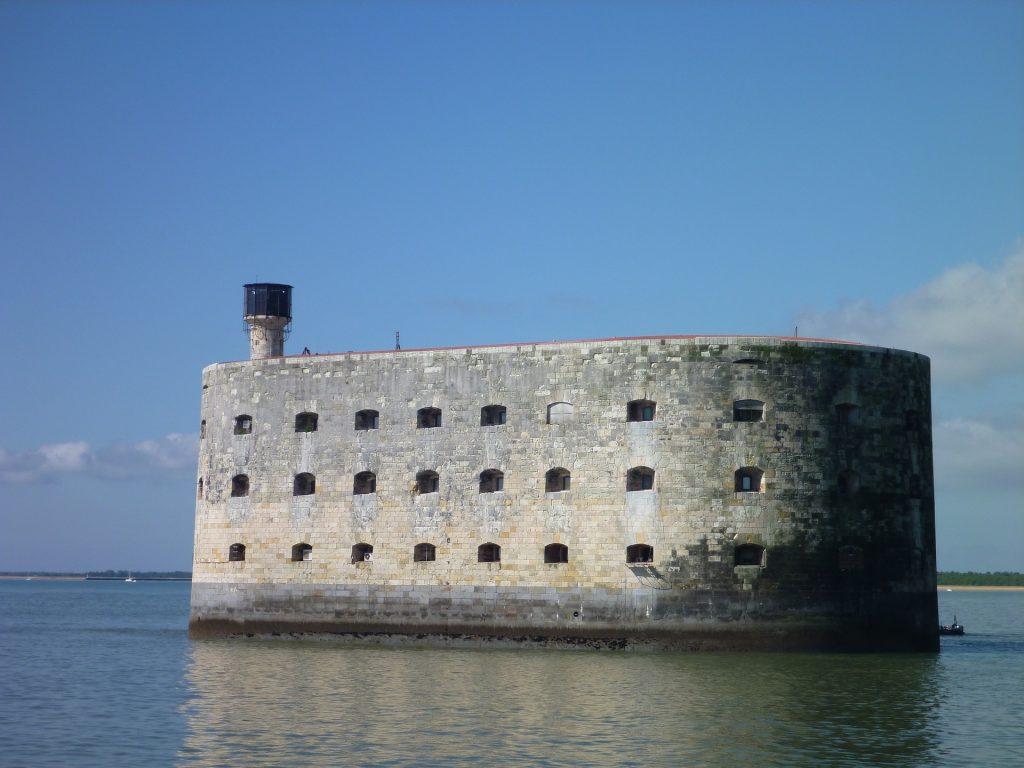 Le Fort Boyard en Charentes Maritimes